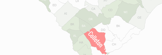 Colleton County Map