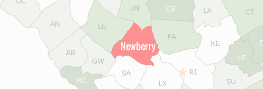 Newberry County Map