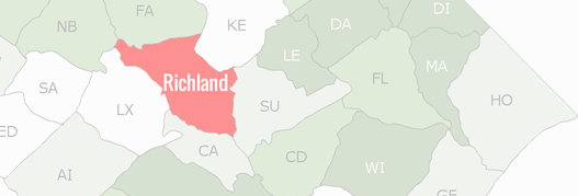 Richland County Map