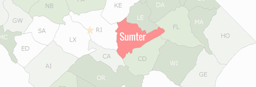 Sumter County Map