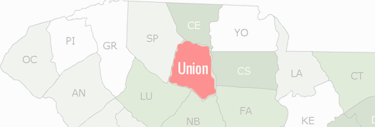 Union County Map